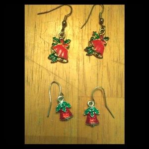 Vintage   Christmas/Holiday Bell Earrings